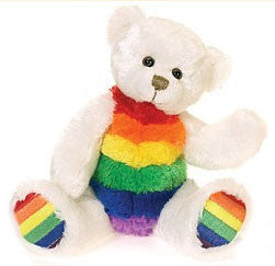 Rainbow Beanie Polar Bear