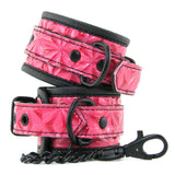 Sinful Ankle Cuffs Red