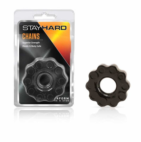 Stay Hard Chains Cock Ring