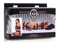 Master Series Subdued Full Body Strap Set