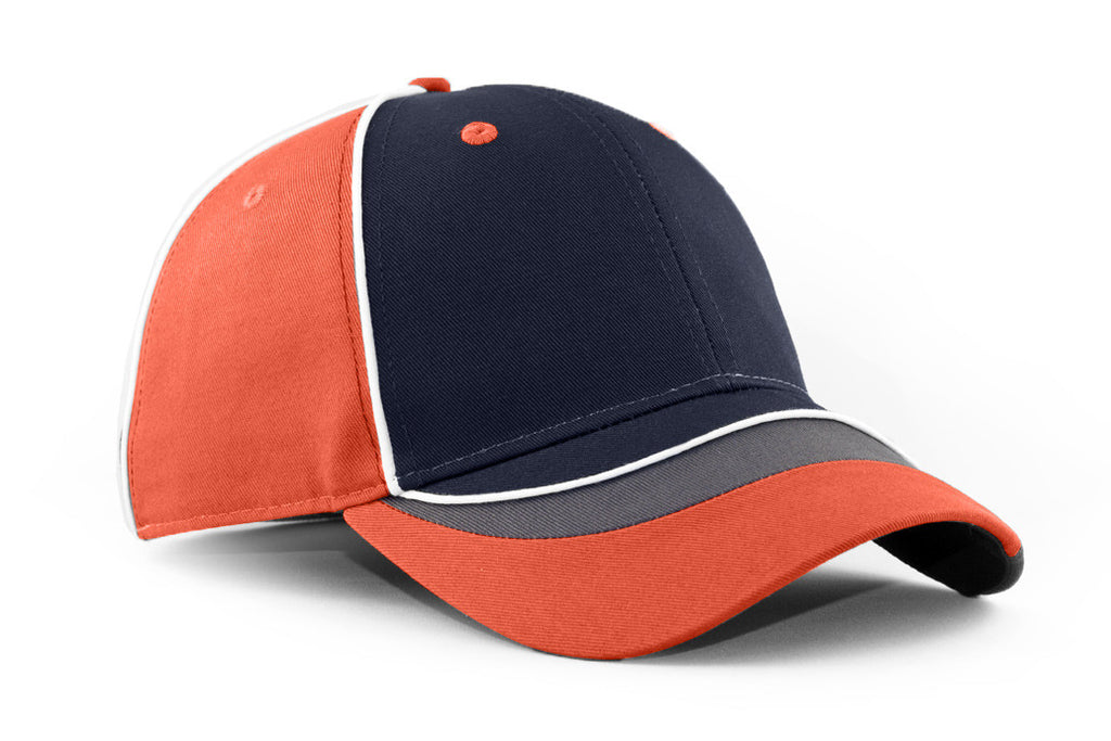 KNP Swiffer Flare Cap Navy/Burnt Orange