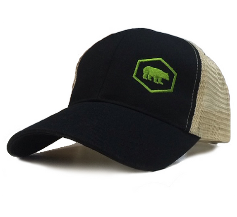 Ajaxx63 Tech Bear Logo Cap