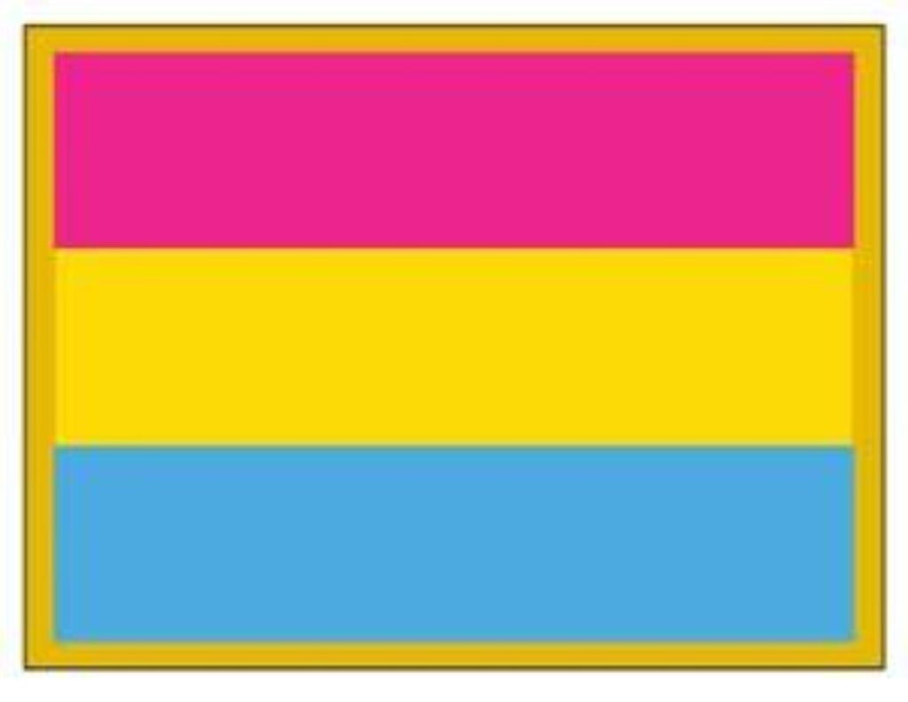 Pansexual Pride Flag Lapel Pin