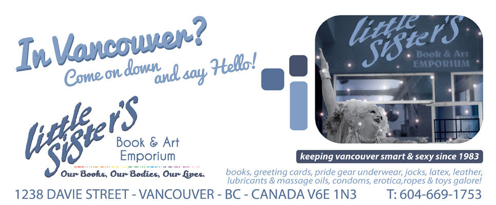 Little Sister's Book & Art Emporium 1238 Davie Street Vancouver BC gay bookstore adult merchandise