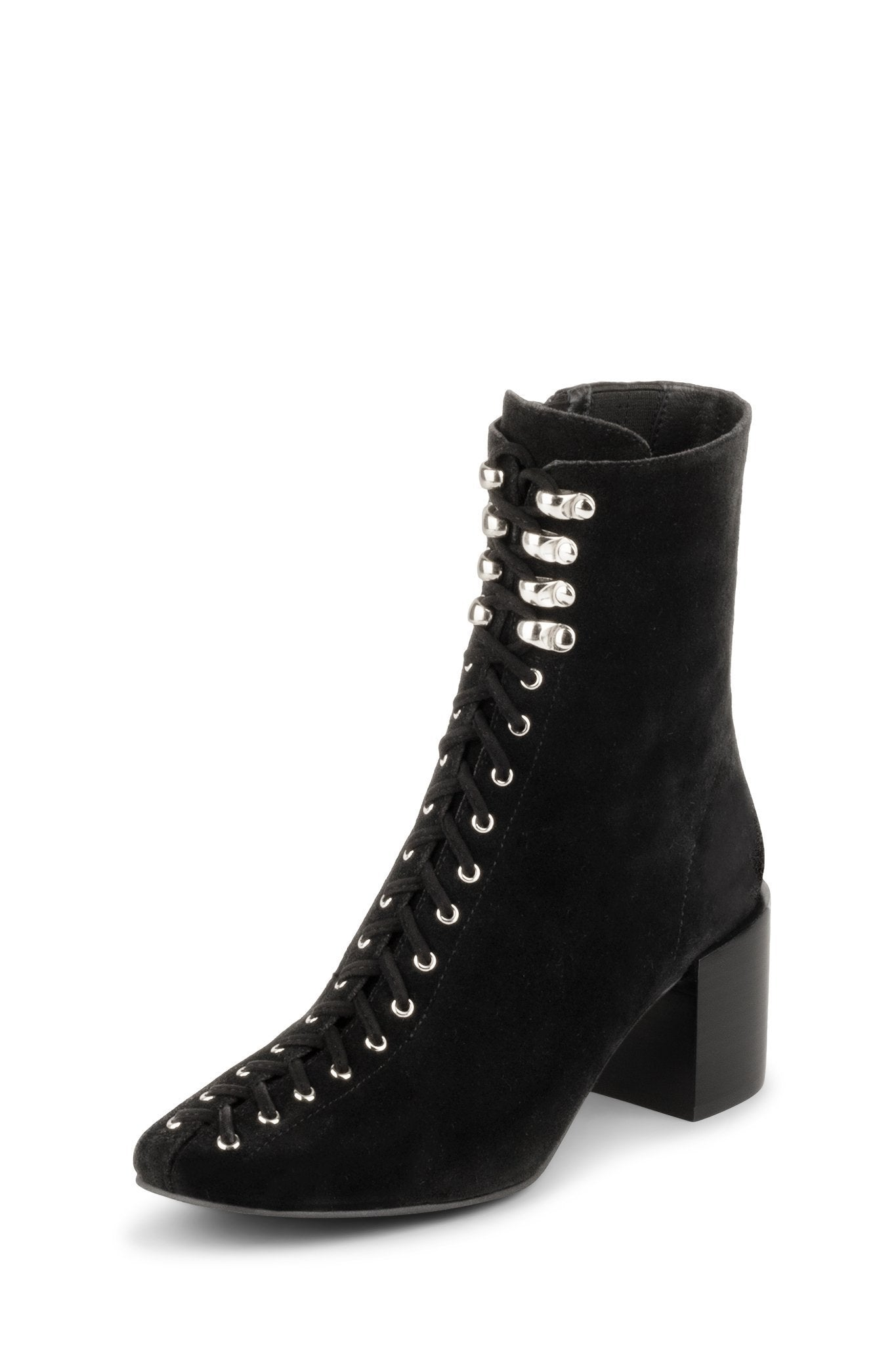 Belmondo Black Lace Up Boot