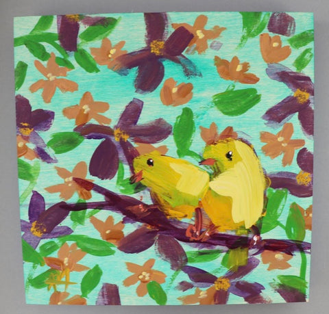 "Angela Moulton ""Two Canaries"""