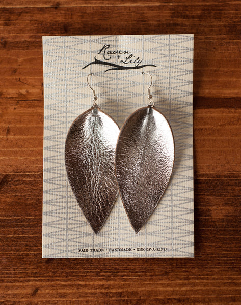 One Accord's Signature Leather Earring