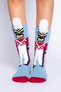 Toy soldier socks