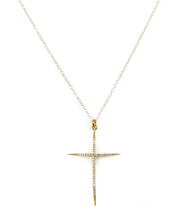 Everlasting Cross necklace