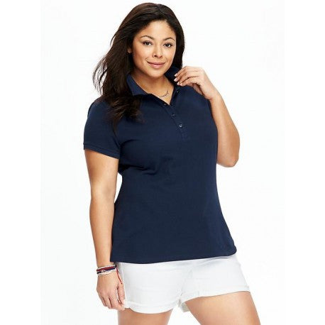 Women/Juniors Plus Size Polo Shirt