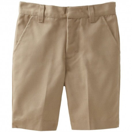 Boys Plus Size Husky Uniform Shorts
