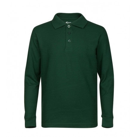 Wholesale Men's Long Sleeve Polo Shirt