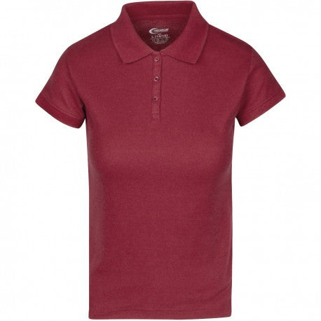 Junior Girls Pique Polo Unifrom Shirt