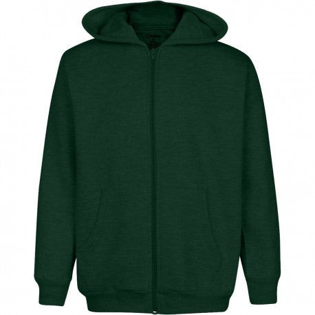 Men's Fleece Zippered Hoodie
