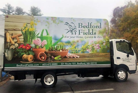bedford fields delivery truck