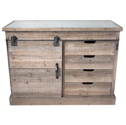 Sliding Door Sideboard Cabinet