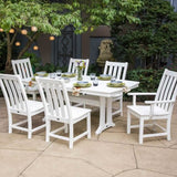 Vineyard 7 piece Nautical Dining Set by Polywood