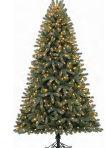 7.5' Conway Spruce Pre-lit LED Artificial Christmas Tree