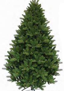 9' Danby Fir Pre-lit Artificial Christmas Tree
