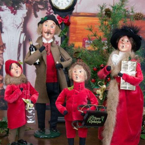 Byers' Choice Caroler - Victorian Family
