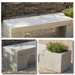 Modular Bench with Planter