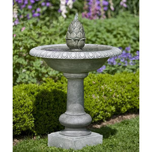 Williamsburg Fountain with Pineapple Finial