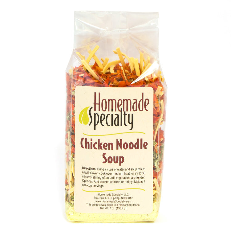 Homemade Specialty Chicken Noodle Soup Mix