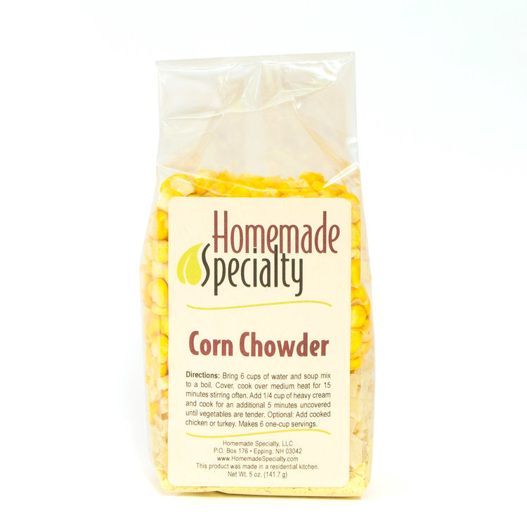Homemade Specialty Corn Chowder Soup Mix