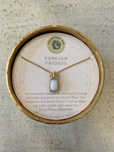 "Spartina 18"" Forever Friends Necklace"
