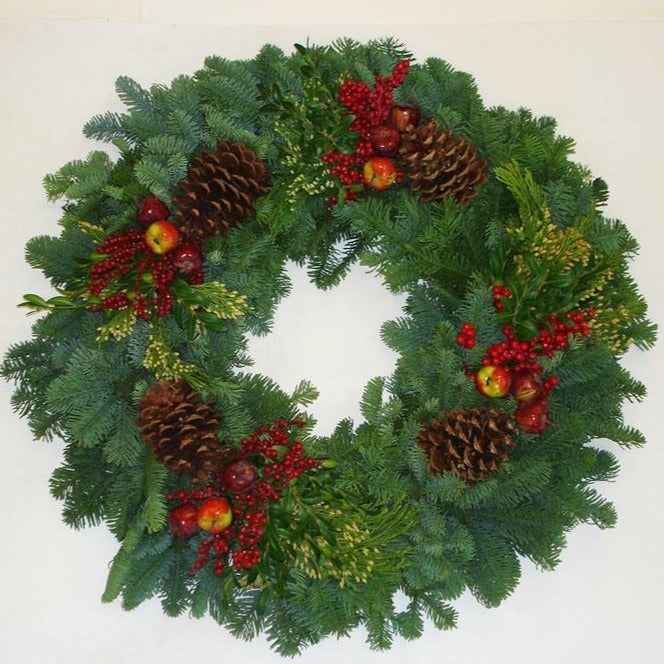 Premium Wreath with Fruit and Berries