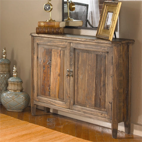 Reclaimed Wood Altair Console Cabinet