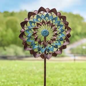 Wind Spinning Sculpture