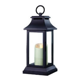 Classic Luminara Flameless Candle in Lantern