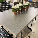 "48x30"" Superstone Dining Set by Summer Classics"