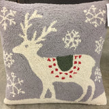 "Hand Hooked Wool Pillow 18"" Square starting at"