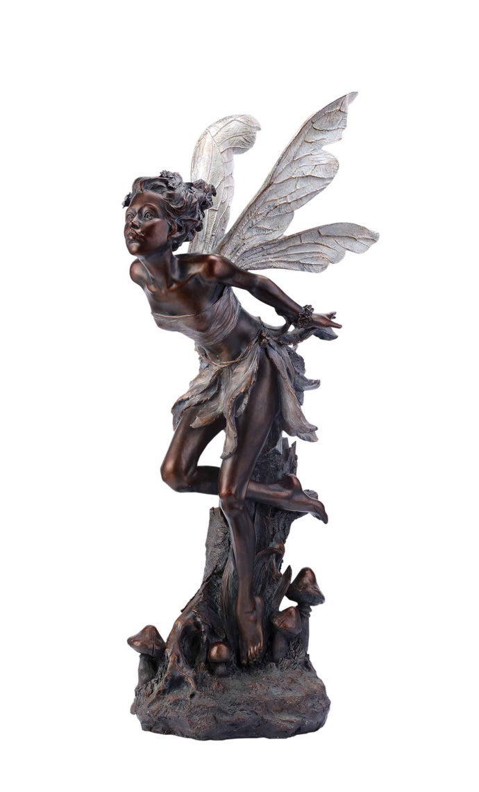 Bronze Kissing Fairy
