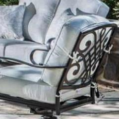 Deep Seating Spring Lounge Chair