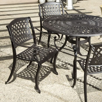 5 piece Cast Aluminum Dining Set