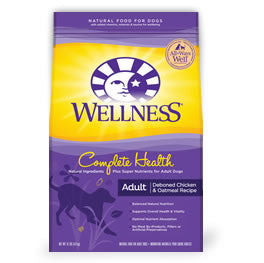 Dog Food:  Wellness Adult Chicken 30 lb. bag