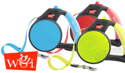 Retractable Gel Leash by Wigzi