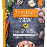 Instinct Raw Medallions Frozen Dog Food 3lb. bag