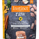 Instinct Raw Patties Frozen Dog Food 6lb. bag
