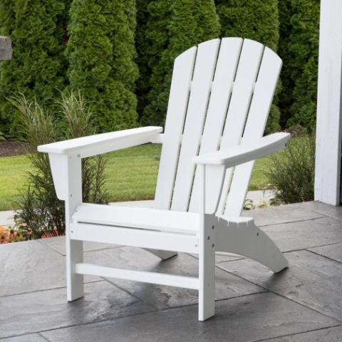 Nautical Adirondack Chair by Polywood