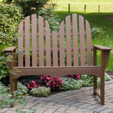 "Classic Adirondack 48"" Bench by Polywood"