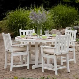 5 piece Coastal Dining Set by Polywood