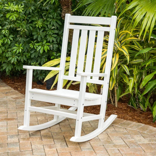 Plantation Estate Porch Rocker by Polywood