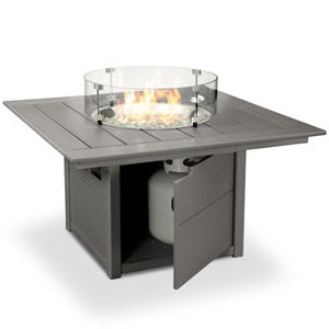 Square Fire Pit Table by Polywood