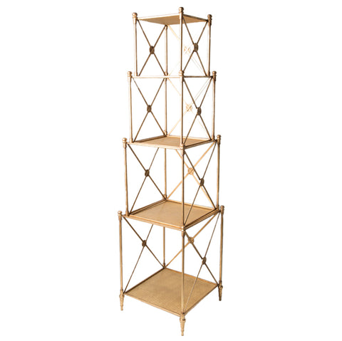 "68"" 4 piece Stacking Shelf unit"