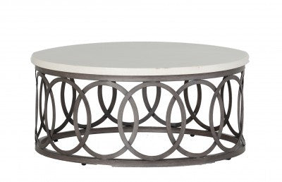 "36"" Round Coffee Table by Summer Classics"