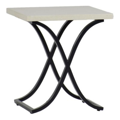 Marco Stone Top End Table by Summer Classics
